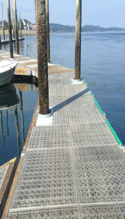 Graded Pier