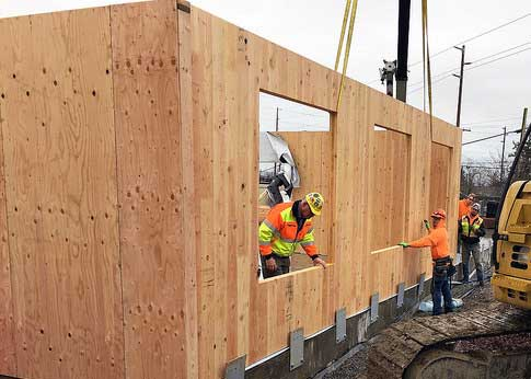 Cross-laminated Timber schoolroom in Wapato